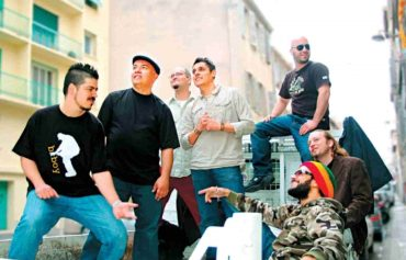 Band Photo of Kokolo in Marseille, France 2008