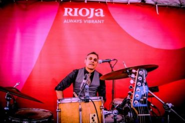 Photo of Ray Lugo at the Rioja Festival Brooklyn New York